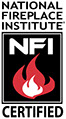 National Certified Fireplace Institute Certified Logo