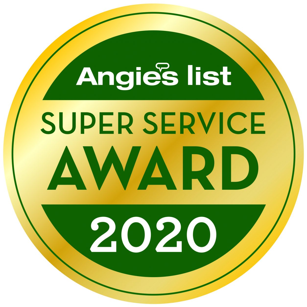2020 Angie's Logo Amazing Flame Super Service Award